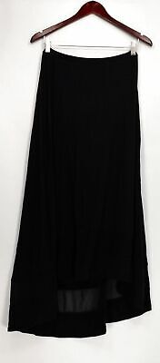 175436a668 H BY HALSTON Navy Wrap Skirt, Flux Suede, Size 2 - $25.00 | PicClick