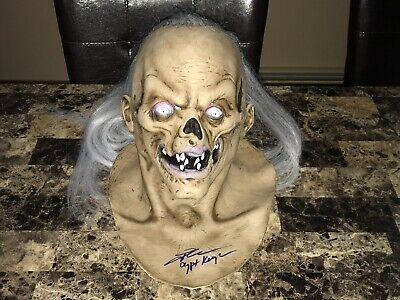 Tales From The Crypt Keeper Signed TV Movie Horror Prop Mask John Kassir Proof