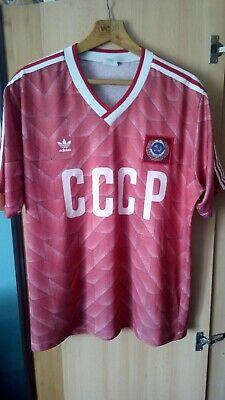 8c290c73ceb VINTAGE ADIDAS CCCP 80's National Soccer Team Jersey Home Shirt ...