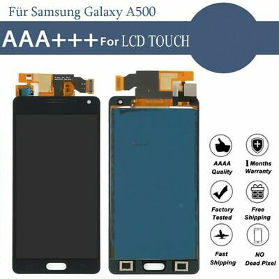 Display per Samsung Galaxy A5 2015 A500 A500F LCD Touch Screen Digitizer nero