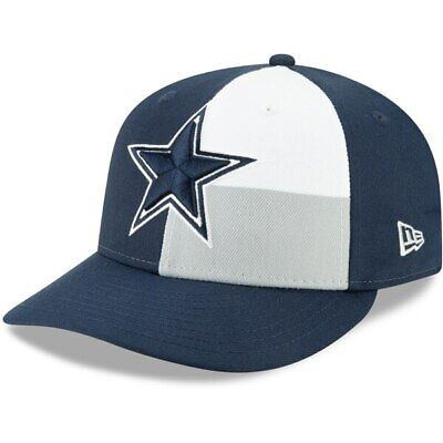 New Era 2019 Dallas Cowboys 59Fifty Low Profile Hat Official Draft On Stage NFL