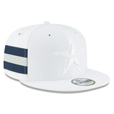 new arrival 86180 62c15 New Era 2018 Men s Dallas Cowboys Color Rush White 9Fifty Adjustable Hat