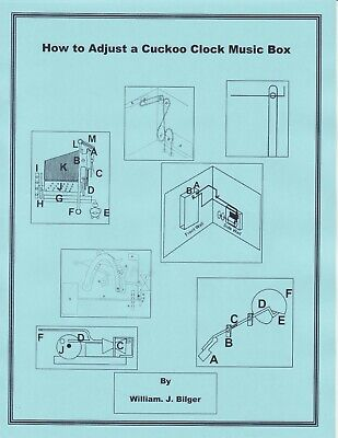 How to Adjust a Cuckoo Clock Music Box -How to PDF Book
