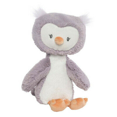 LARGE Soft Design Baby Safe Embroidered Accents Gund Baby Toothpick Owl Plush