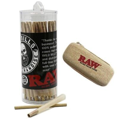 RAW Classic King Size Pre-Rolled Cones (50 Pack)AUTHENTIC+ raw Cone Wallet