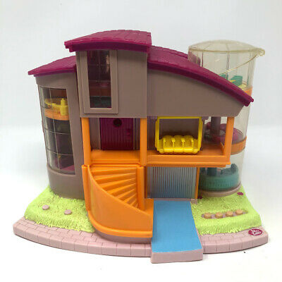 Vintage Polly Pocket Magic Movin' Ultimate Clubhouse 2000