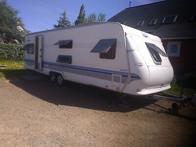 caravane HOBBY 720 ukfe exclusive, 8 places