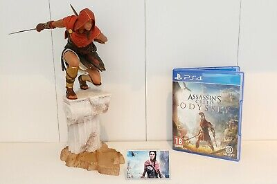 Assassins Creed Odyssey Kassandra Display  Plastic LogoWith Support Stand