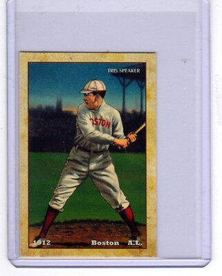 1912 Tris Speaker, Boston Red Sox limited edition Centennial reprint