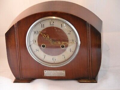 Llanelly Co Operative Society Miss White 1955 Smiths Federal Enfield Clock