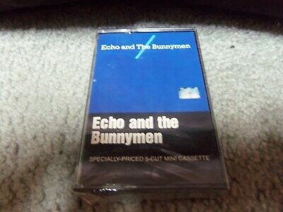 Echo And The Bunnymen...s/T....brand New...still Sealed...5-Track Cassette