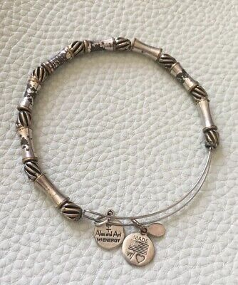 Alex And Ani You Are Loved Beaded with Bow Tie Bracelet A17MDAY07RS