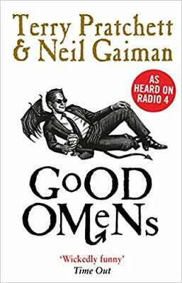 Good Omens by Terry Pratchett and Neil Gaiman Editon PDF E-B00K Fast Shipping