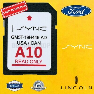 A10 2019 LATEST FORD LINCOLN GPS Navigation SD CARD MAP UPDATE A9 A8 A7