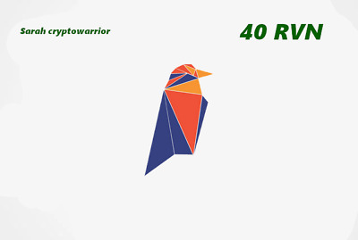 40 Raven Coin (RVN) CRYPTO MINING-CONTRACT ( 40 RVN ) Crypto Currency