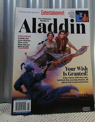 Ultimate Guide Aladdin Collector's People Special Magazine Edition 2019  $13.99