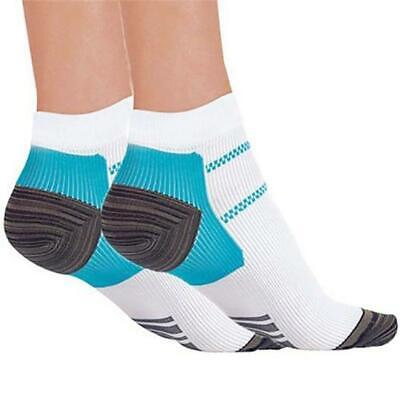 1Pair Plantar Fasciitis Copper Infused Compression Socks Swelling Relief Support