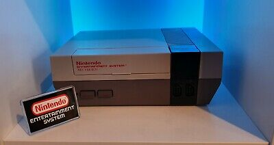 Nintendo Entertainment System Nes Display Logo CoverWith Support Stand
