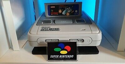 Super Nintendo Display Logo Cover SnesWith Support Stand Fridge Magnet