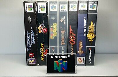 Nintendo 64 Display Logo Cover With Support Stand Fridge Magnet