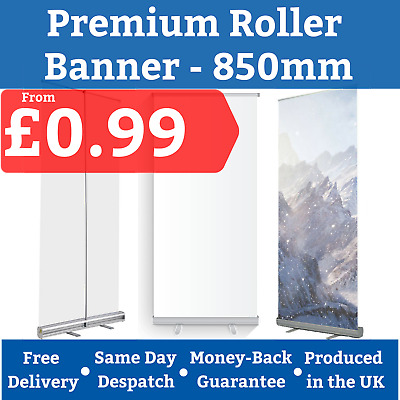 Printed Roller Banner Printing Pop Up Roll Up Pull Up Exhibition Display Stand
