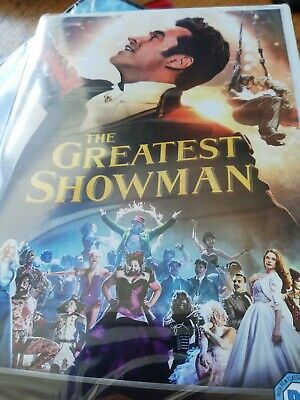 The Greatest Showman (DVD, 2018) SEALED
