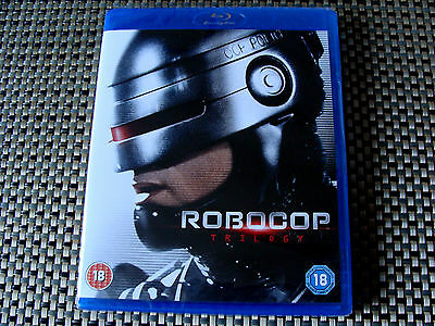 Blu - Box Set: Robocop Trilogy :Robocop, 2 & 3 : Brand New & Sealed 3 Discs