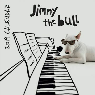 2019 Jimmy the Bull 2019 Wall Calendar,  by Wells Street by LANG