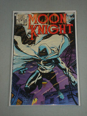Moon Knight #32 Vol 1 Marvel Kevin Nowlan Art July 1983
