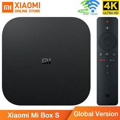 Xiaomi Mi Box S 4K HDR TV BOX Android 8.1 2+8GB Dual WiFi Streaming Media Player