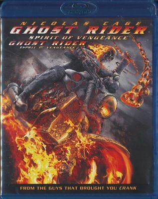 Ghost Rider: Spirit of Vengeance (Blu-Ray Disc, 2012, Canadian) Nicolas Cage