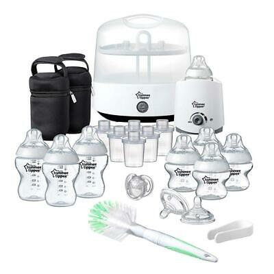 Tommee Tippee Complete Feeding Set (Closer to Nature) White