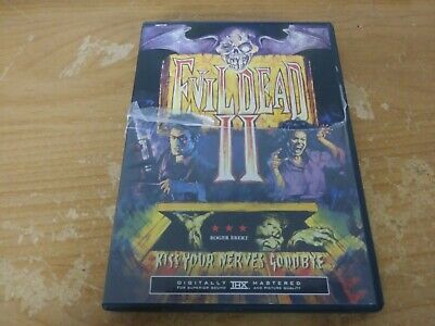Evil Dead Ii Bruce Campbell Horror Comedy Dvd Movie Film Disc Anchor Bay Nr 1987