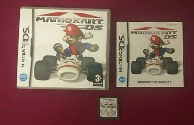 Nintendo DS DSi Game - MARIO KART DS - Complete with Manual - VGC Free UK PP