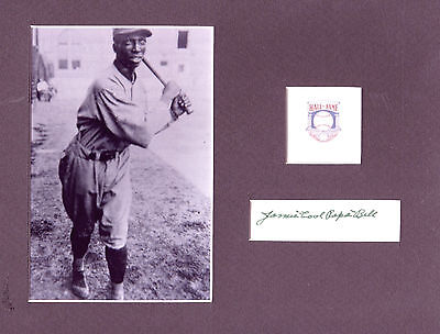 James Cool PaPa Bell Signed photo frame size 8x10 COA 1/19 choice of 2 HOF PC