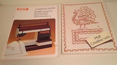 Pfaff Instruction manual~Creative 1469~Ins. book and tips for sewing~2 pc set