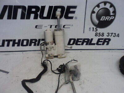 EVINRUDE REMOTE CONTROL assembly with power trim and tilt - $299 99