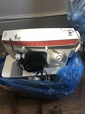 Vintage Singer Domestic Sewing Machine M43 Spares Or Repair