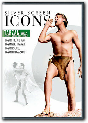 Tarzan The Ape Man Tarzan and His Mate Tarzan Escapes Tarzan Finds a Son DVD New