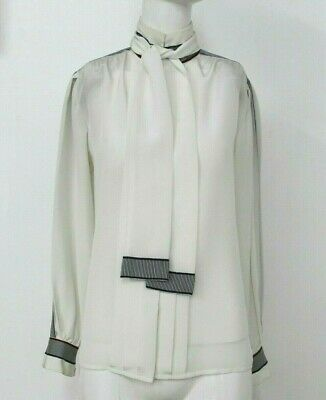 61343695ca367 VINTAGE ADOLFO AT Saks Fifth Avenue Blouse with Tie