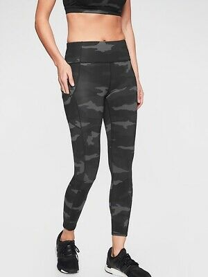 5bd3c696858728 ATHLETA NWT WOMEN'S Essex Camo Hybrid Tight Size Small Color Arbor ...