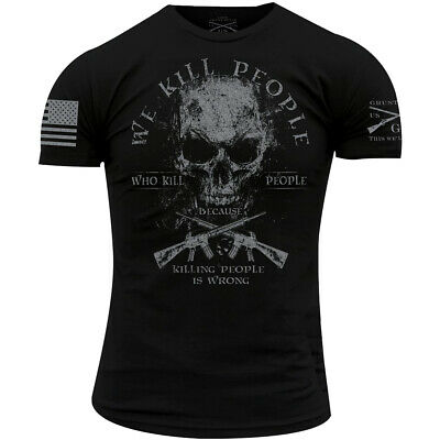 Grunt Style We Kill Revisited T-Shirt - Black