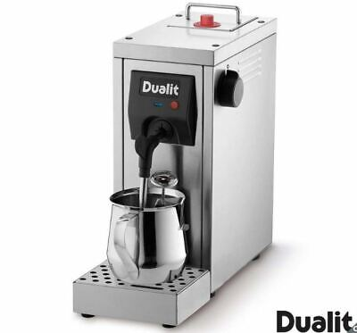 Dualit Cafe Cino Milk Steamer Coffee Machine HOME Powerful Pump Stainless Steel
