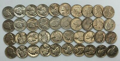 1978 S PROOF JEFFERSON NICKEL 5C GEM ROLL 40 COIN UNSEARCHED CUT FROM SET