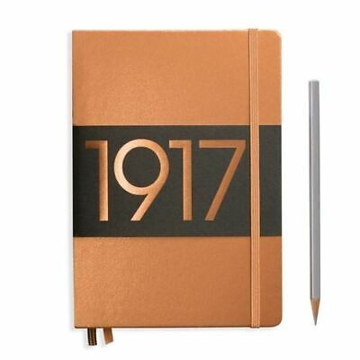 NEW Leuchtturm1917 Special Edition Metallic A5 Hardcover Notebook Medium Plain -