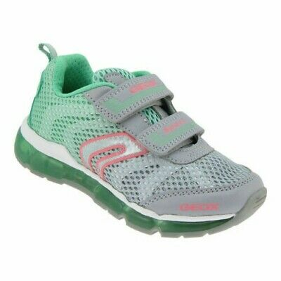 GEOX TAILLE 24 Blinki Fille Baskets Velcro Loisir Chaussures Clignotant LED