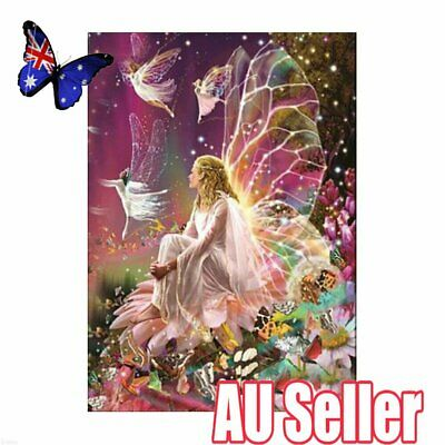 Fairy Full Drill DIY 5D Diamond Painting Embroidery Cross Stitch Kit Decor 6J