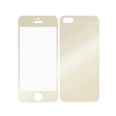 Color Mirror Premium Real Tempered Glass Screen Protector For iPhone 5 5S RJ