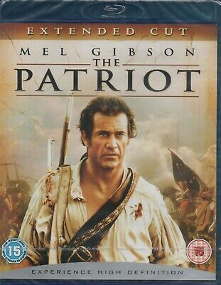 THE PATRIOT - Mel Gibson - Blu-Ray *NEW & SEALED* *Extended Cut*
