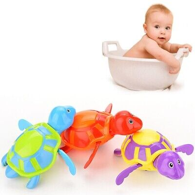 1 Pcs Funny Clockwork Cute Turtles Kid Baby Swimming Favor Bath Time Play Toy